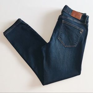 Madewell Dark Wash Mid Rise Skinny Jeans Size 28